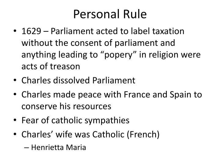 Personal Rule
