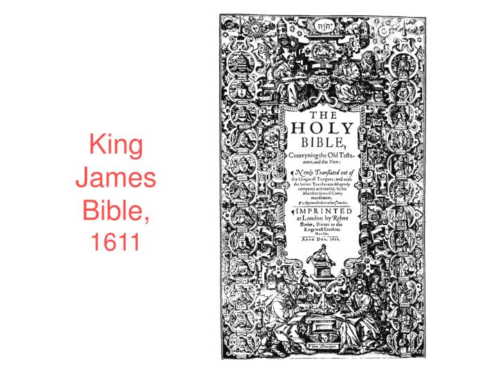 King James Bible,