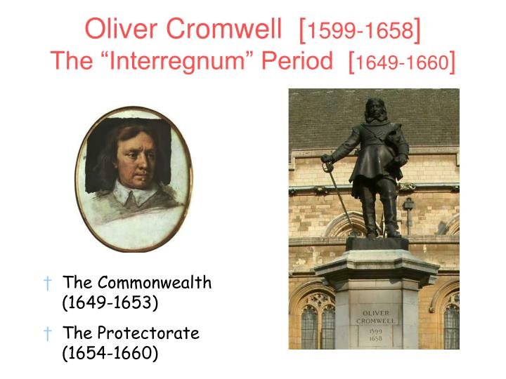 Oliver Cromwell  [