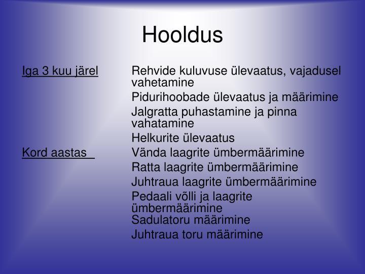 Hooldus