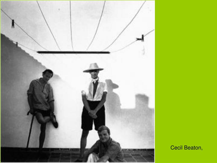 Cecil Beaton,