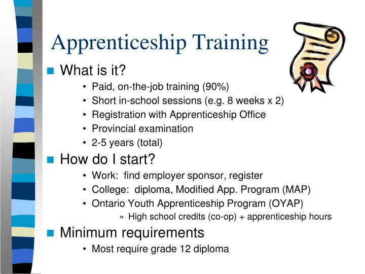 Apprenticeship Training