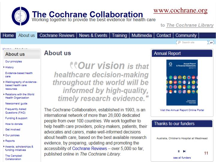 www.cochrane.org