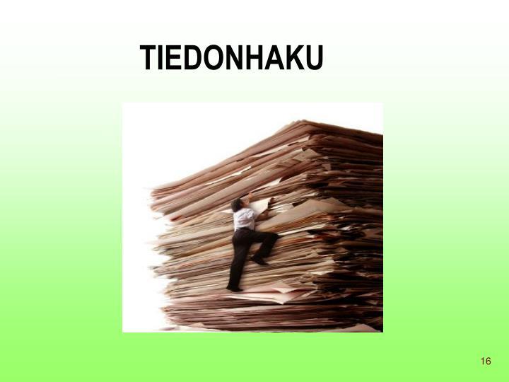 TIEDONHAKU