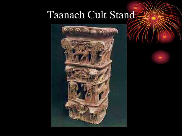Taanach Cult Stand