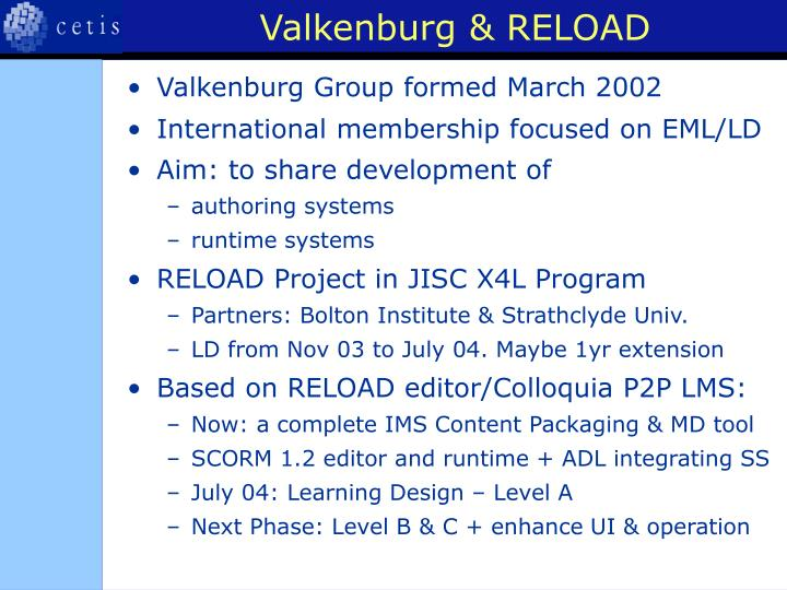 Valkenburg & RELOAD
