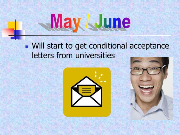 May / June