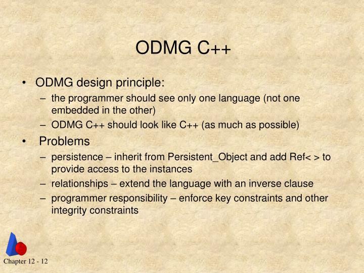 ODMG C++