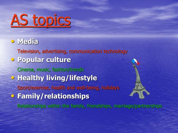 AS topics
