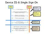 device id single sign on