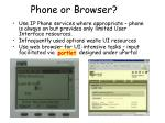 phone or browser