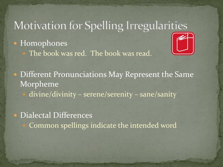 writing and spelling problems ppt Reading difficulties are observed among students with learning disabilities more  than any other  problem with acquiring proficiency in writing and spelling.