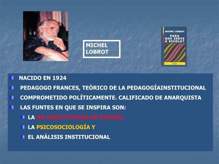 MICHEL LOBROT
