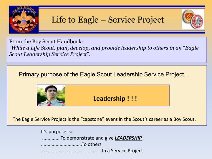 eagle scout project requirements