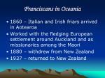franciscans in oceania2