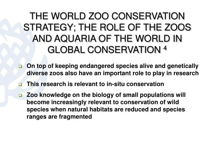 THE WORLD ZOO CONSERVATION