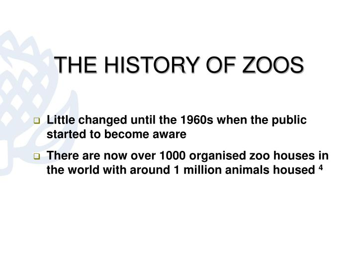 THE HISTORY OF ZOOS
