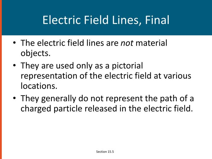 Electric Field Lines, Final
