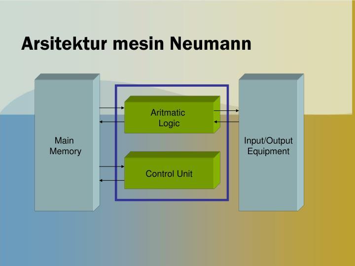 Arsitektur mesin Neumann