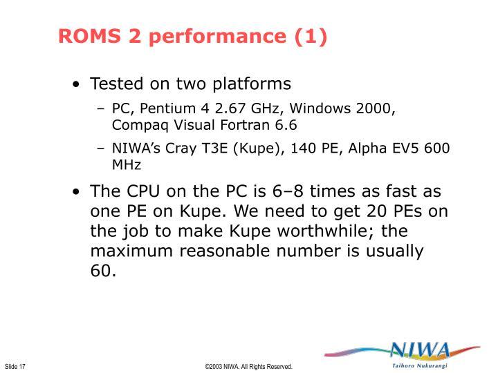 ROMS 2 performance (1)