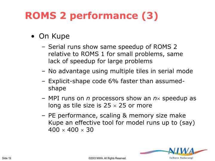 ROMS 2 performance (3)