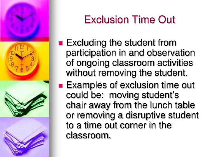 Exclusion Time Out