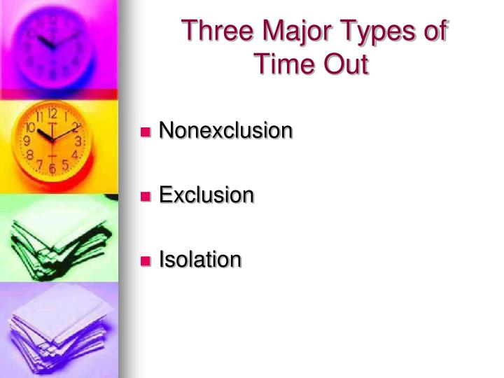 Three Major Types of
