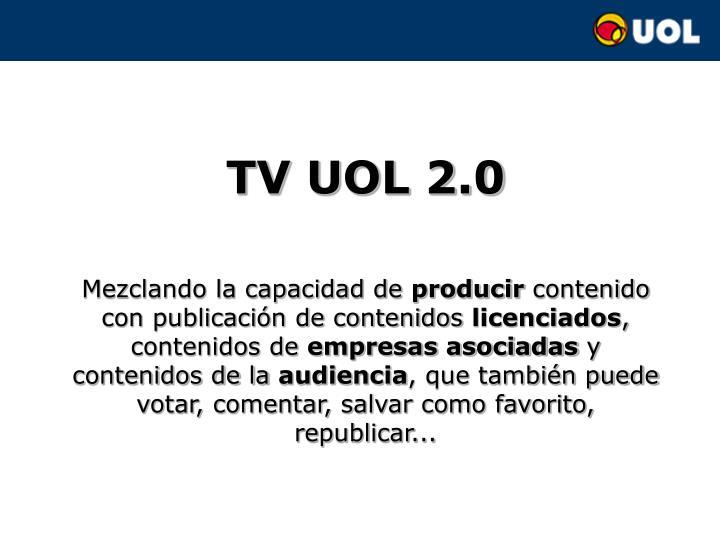 TV UOL 2.0