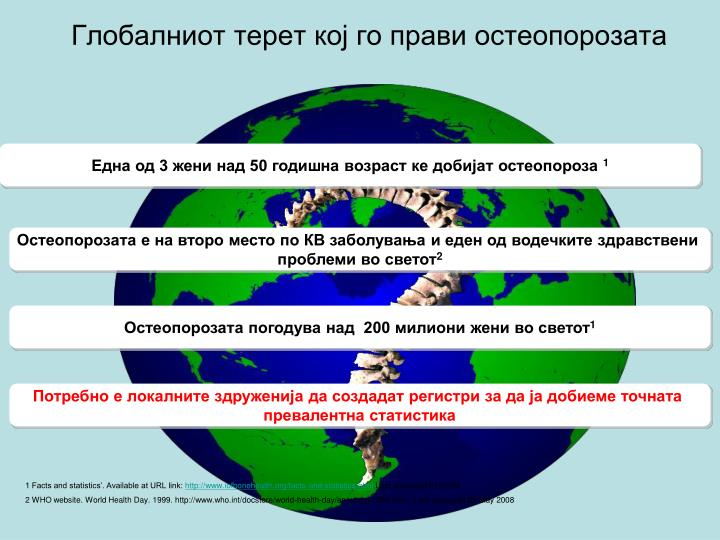 Глобалниот терет кој го прави остеопорозата