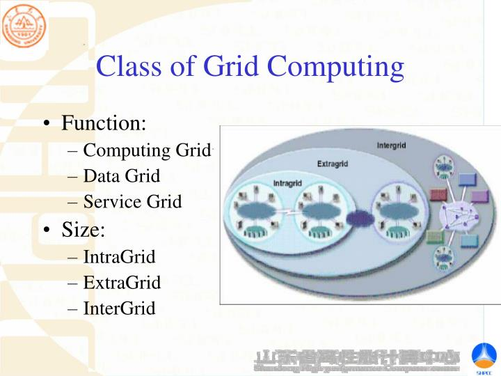 Class of Grid Computing