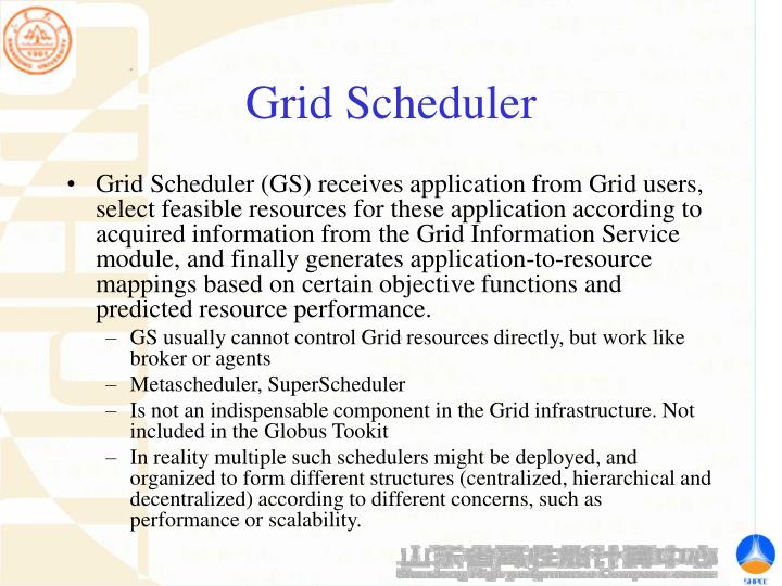 Grid Scheduler