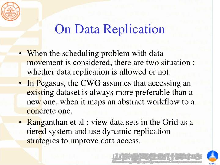 On Data Replication