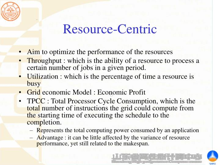 Resource-Centric