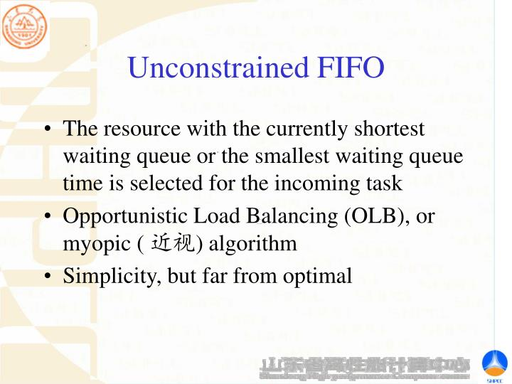 Unconstrained FIFO