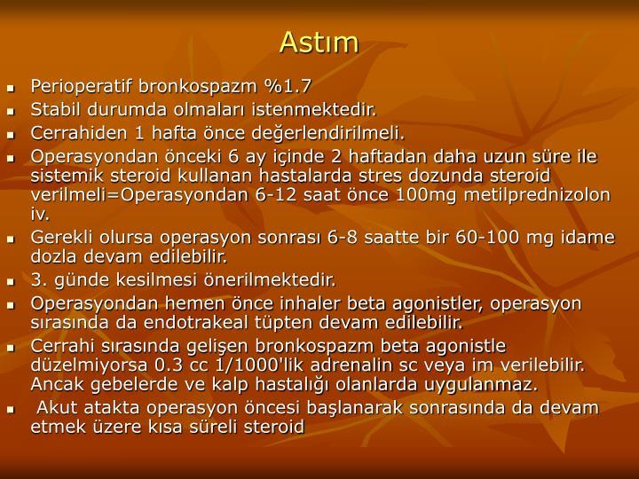 Astım