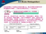 rd route distinguisher