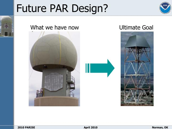 Future PAR Design?