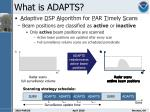 what is adapts