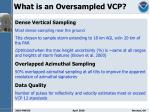 what is an oversampled vcp