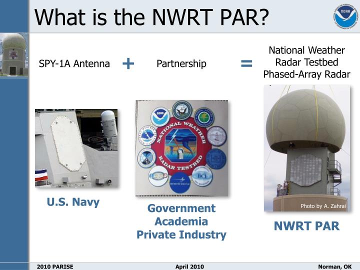 What is the NWRT PAR?