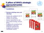 5 pillars of who s strategic approach contd2