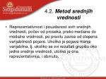 4 2 metod srednjih vrednosti1