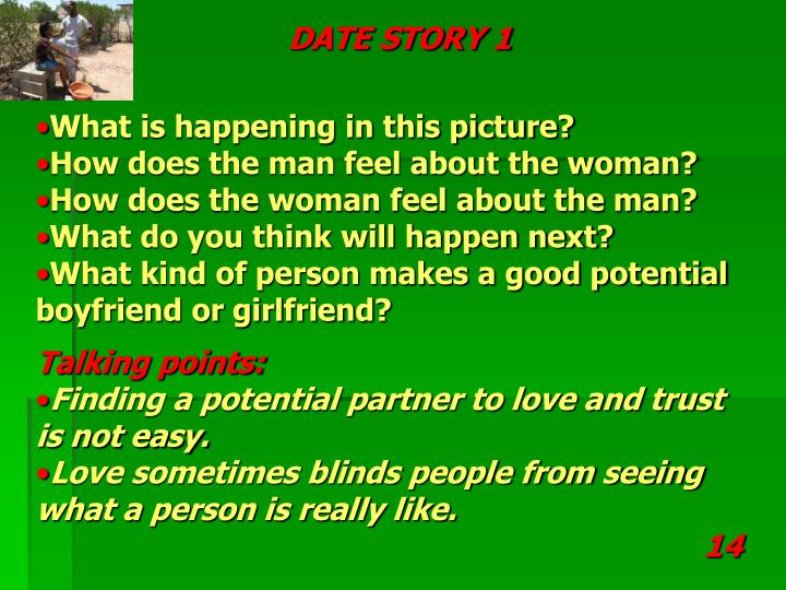 DATE STORY 1