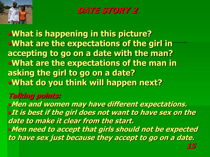 DATE STORY 2
