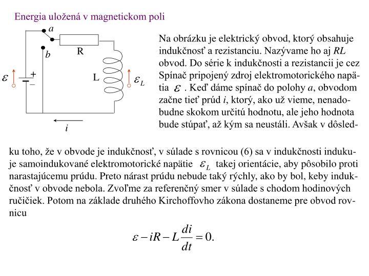 Energia uložená v magnetickom poli