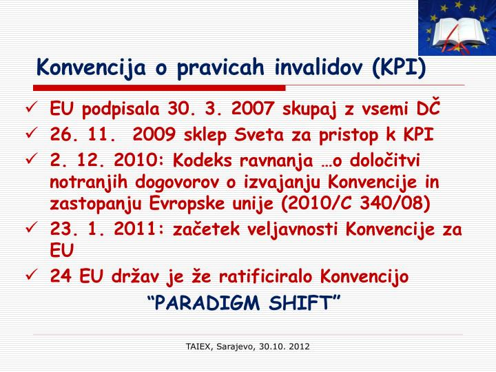 Konvencija o pravicah invalidov (KPI)