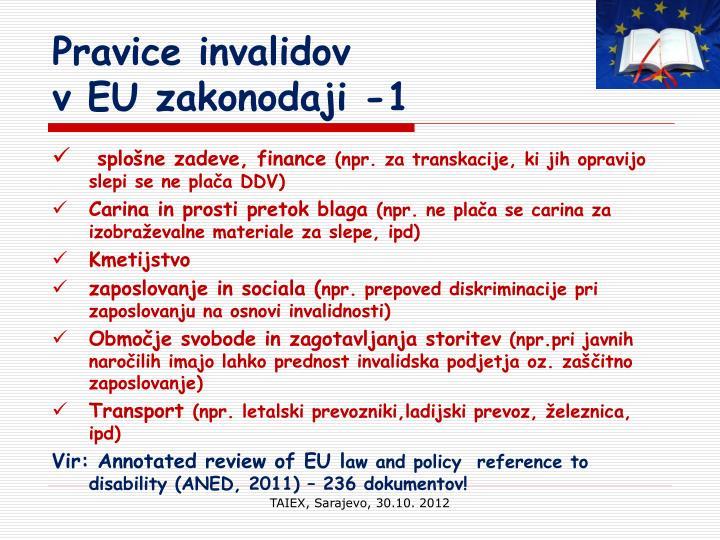 Pravice invalidov