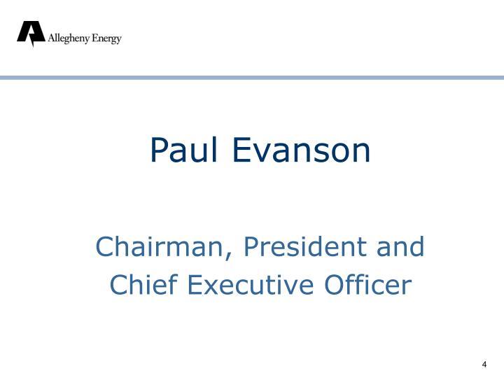 Paul Evanson