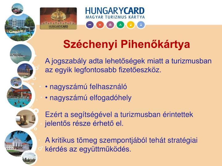 Széchenyi Pihenőkártya