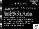 l antifascismo